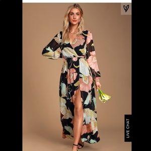 Lulu's Wonderous Lilly Maxi Dress